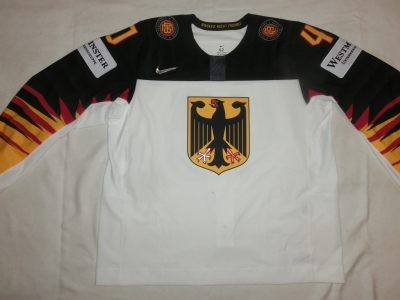 Gameworn WM Eishockey Trikot 2018 # 92 Marcel Noebels