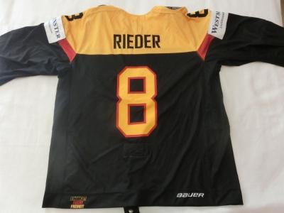 DEB Gameworn Eishockeytrikot 2016/2017s #8 Tobias Rieder