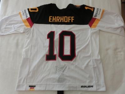 DEB Gameworn Eishockeytrikot 2016/2017 #10 Christian Ehrhoff