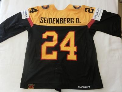 DEB Gameworn Eishockeytrikot 2016/2017s #24 Dennis Seidenberg