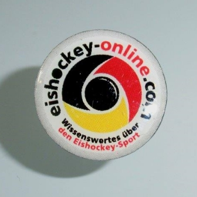 eishockey-online.com Ansteck Pin/Nadel (rund)