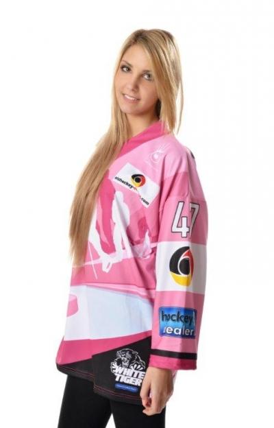 eishockey-online.com - Eishockeytrikot Let´s get pink