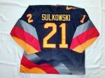 DEB Gameworn Eishockeytrikot U20 WM 1998 - David Sulkovsky