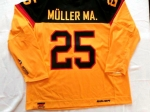 DEB Gameworn Eishockeytrikot 2015/2016 #25 Marcel Müller