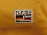 DCup2017 Gameworn Eishockey Trikot #67 Bernhard Ebner