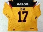 DCup2017 Gameworn Eishockey Trikot #17 Marcus Kink
