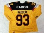 DCup2017 Gameworn Eishockey Trikot #93 Brent Raedeke