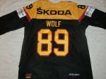 Gameworn Eishockey Trikot #89 David Wolf