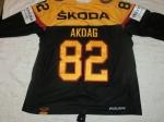 Gameworn Eishockey Trikot #82 Sinan Akdag