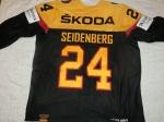 Gameissued Eishockey Trikot #24 Dennis Seidenberg